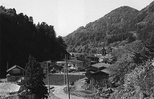 大川原の集落
